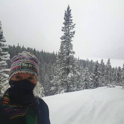 Freezing my lungs on the High Rockies Trail