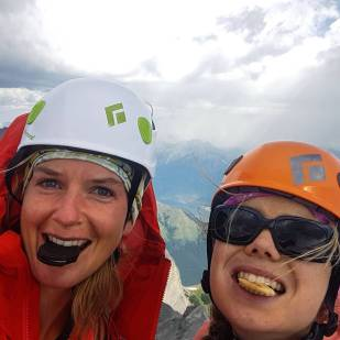 Lougheed summit selfie